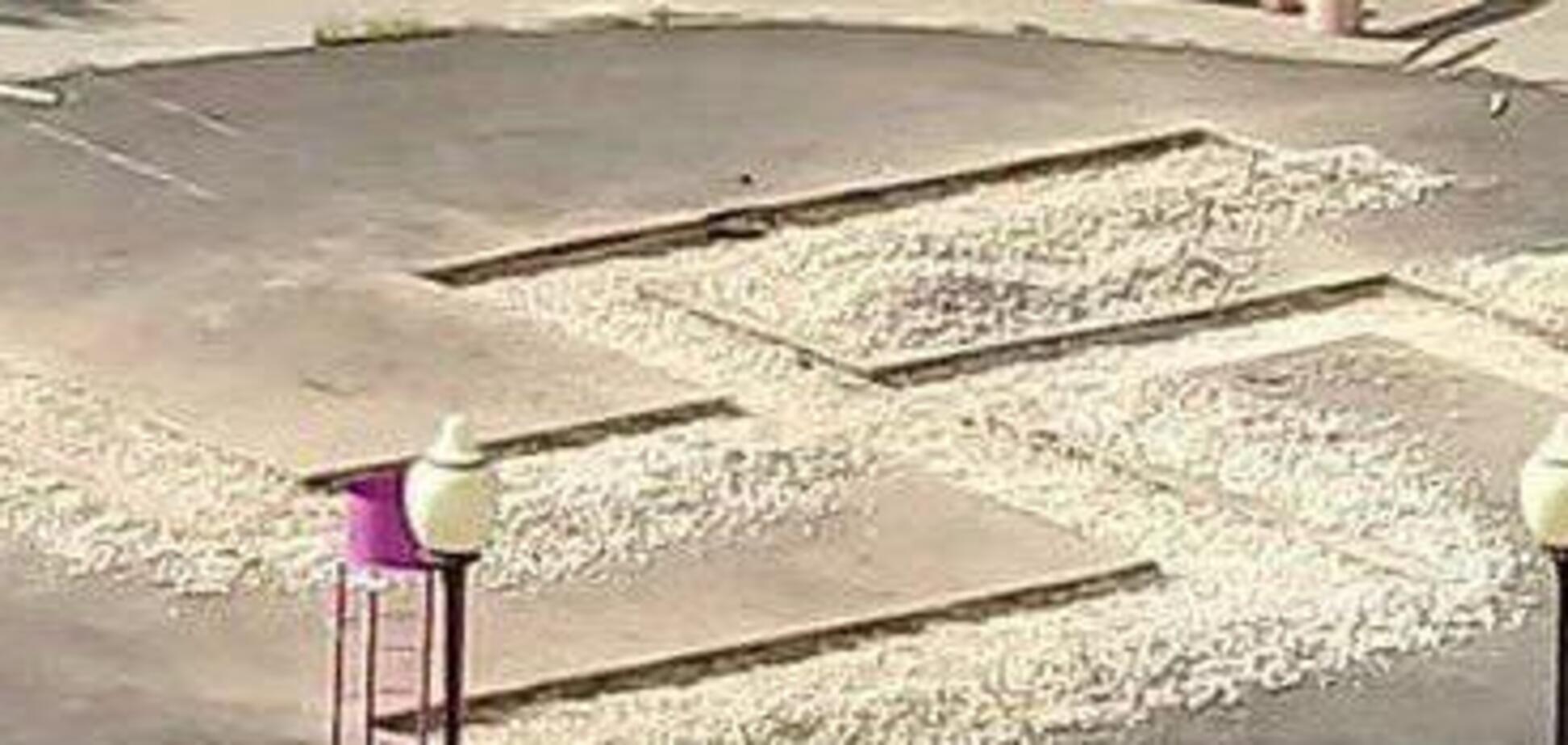 В России оскандалились с 'нацистской' детской площадкой: фотофакт