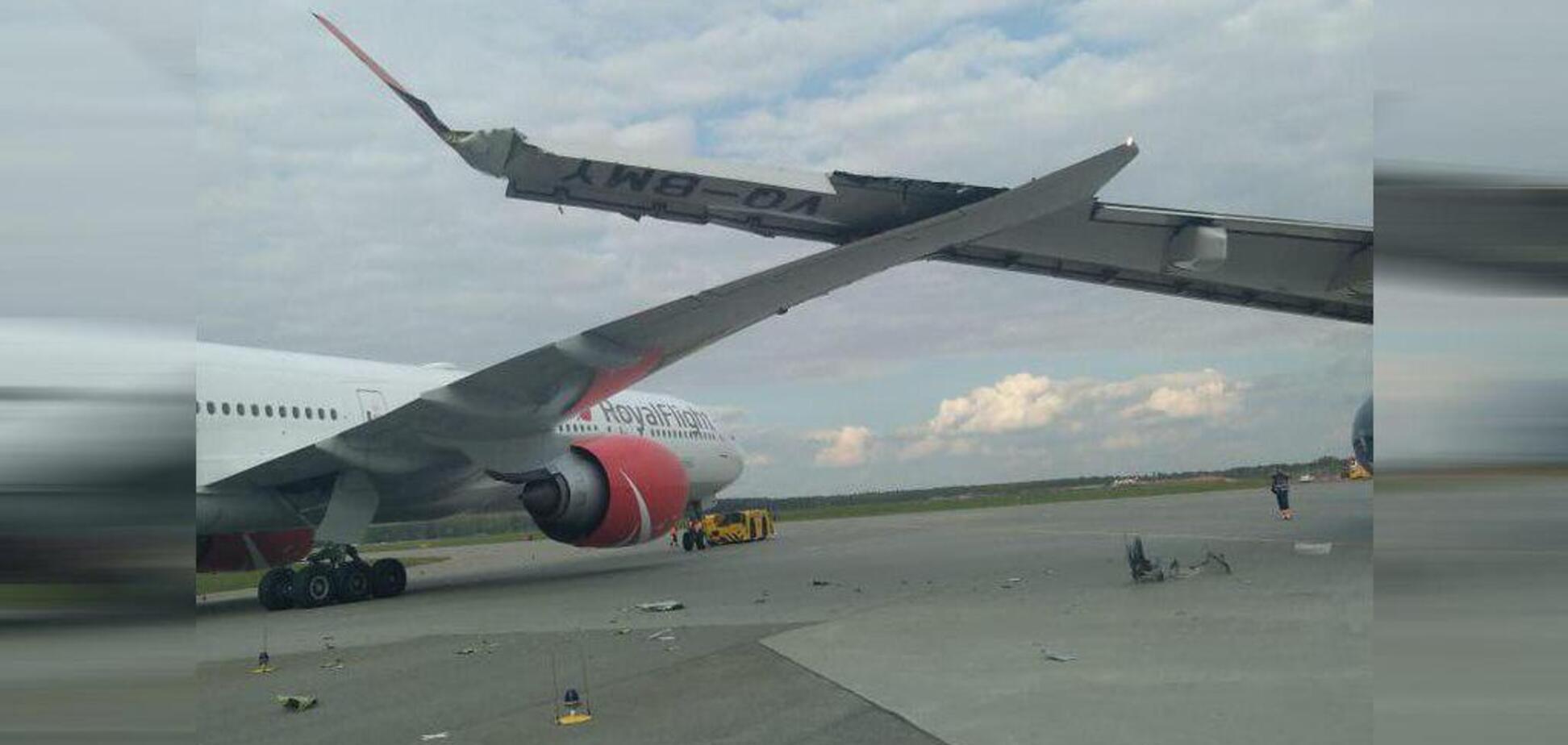 Літаки зіткнулися в Шереметьєво