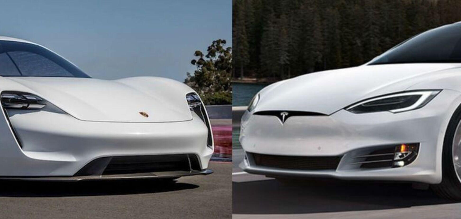 Tesla проти Porsche: параметри електромобілів порівняли на відео