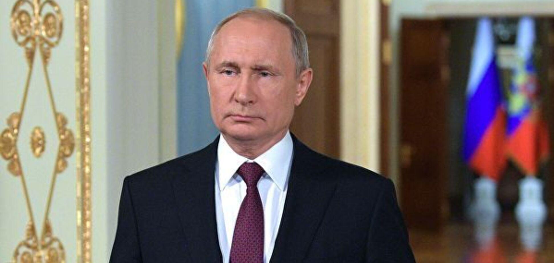 'Придурки!' Путін не стримав емоцій на публіці