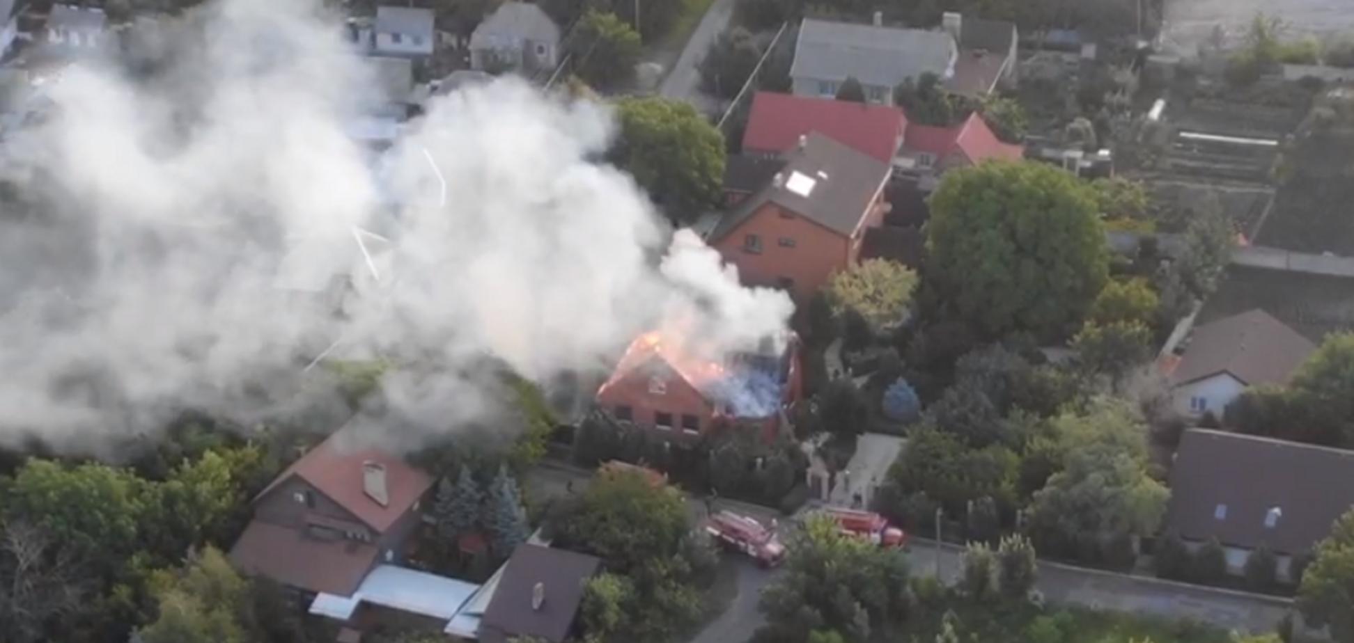 У 'ДНР' спалили будинок ватажка терористів Дикого