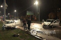 Під Дніпром <strong>п'яний поліцейський</strong> влаштував <strong>ДТП</strong>