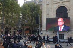 У Парижі попрощалися з експрезидентом Шираком: усі фото і відео