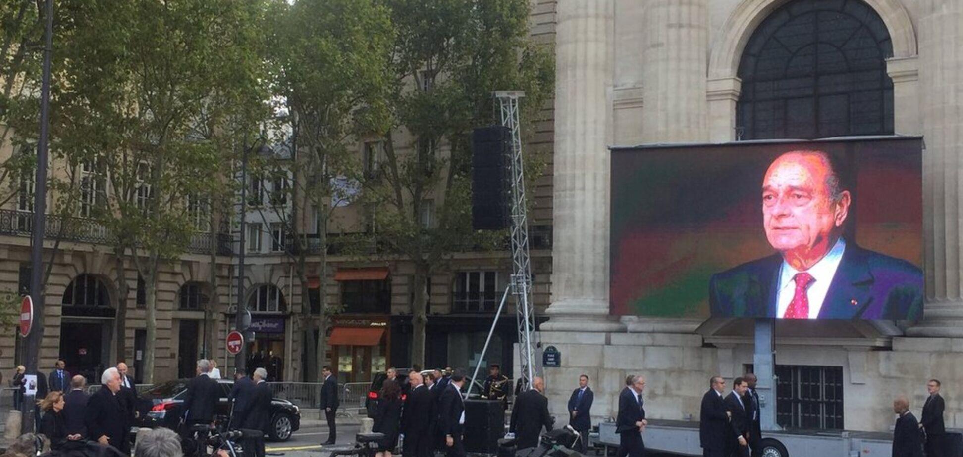 В Париже попрощались с экс-президентом Шираком: фото, видео и подробности