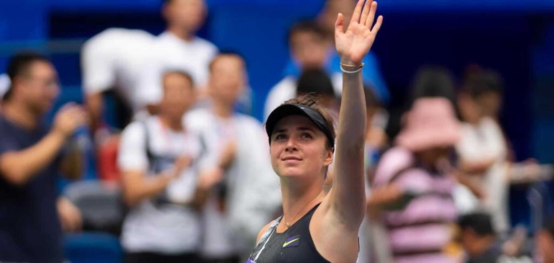 Світоліна виграла матч-трилер на турнірі в Китаї