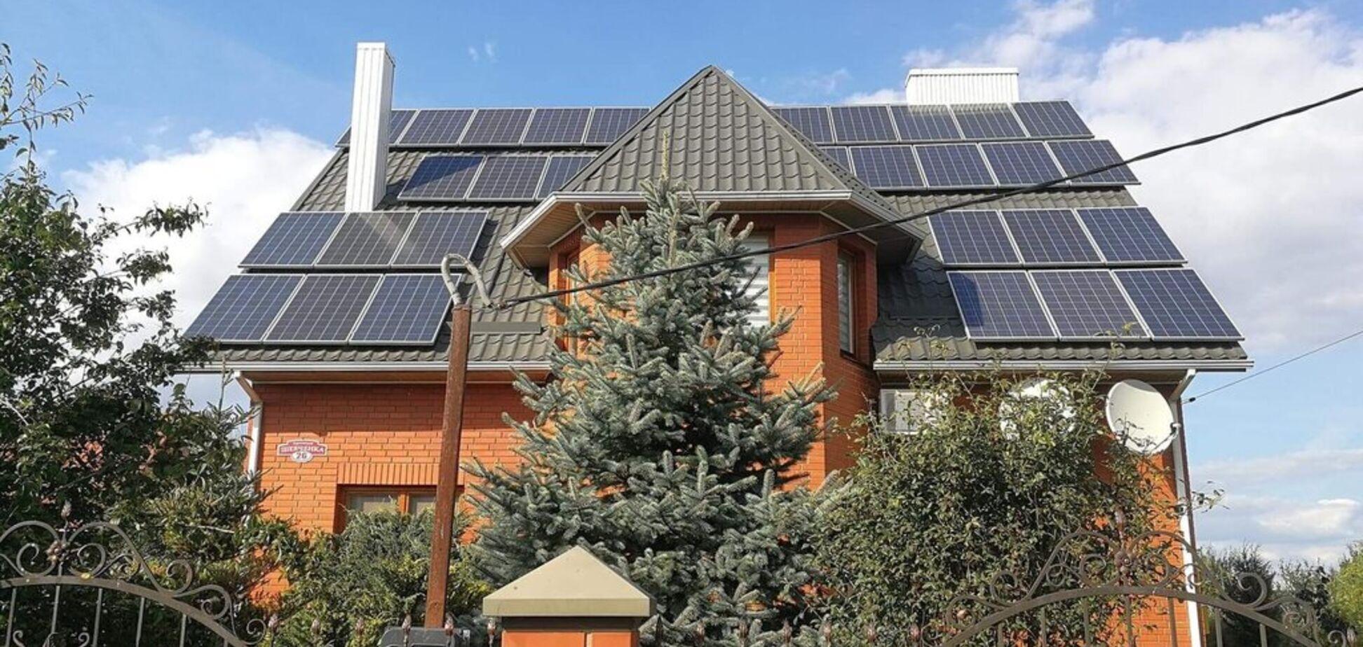 Скільки можна заробити на сонячних панелях і вітряках: названі суми