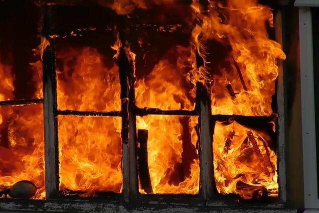 "На ""Дніпроводоканалі"" спалахнула пожежа (ілюстрація)"