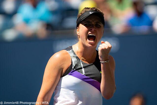Еліна Світоліна вийшла до півфіналу US Open-2019