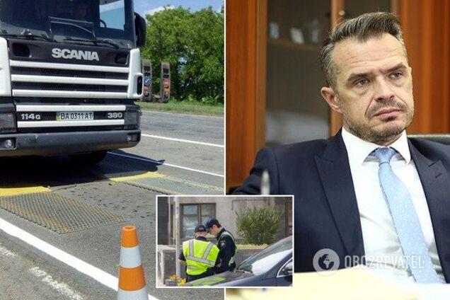 Новак розповів про штрафи за перевантажені авто