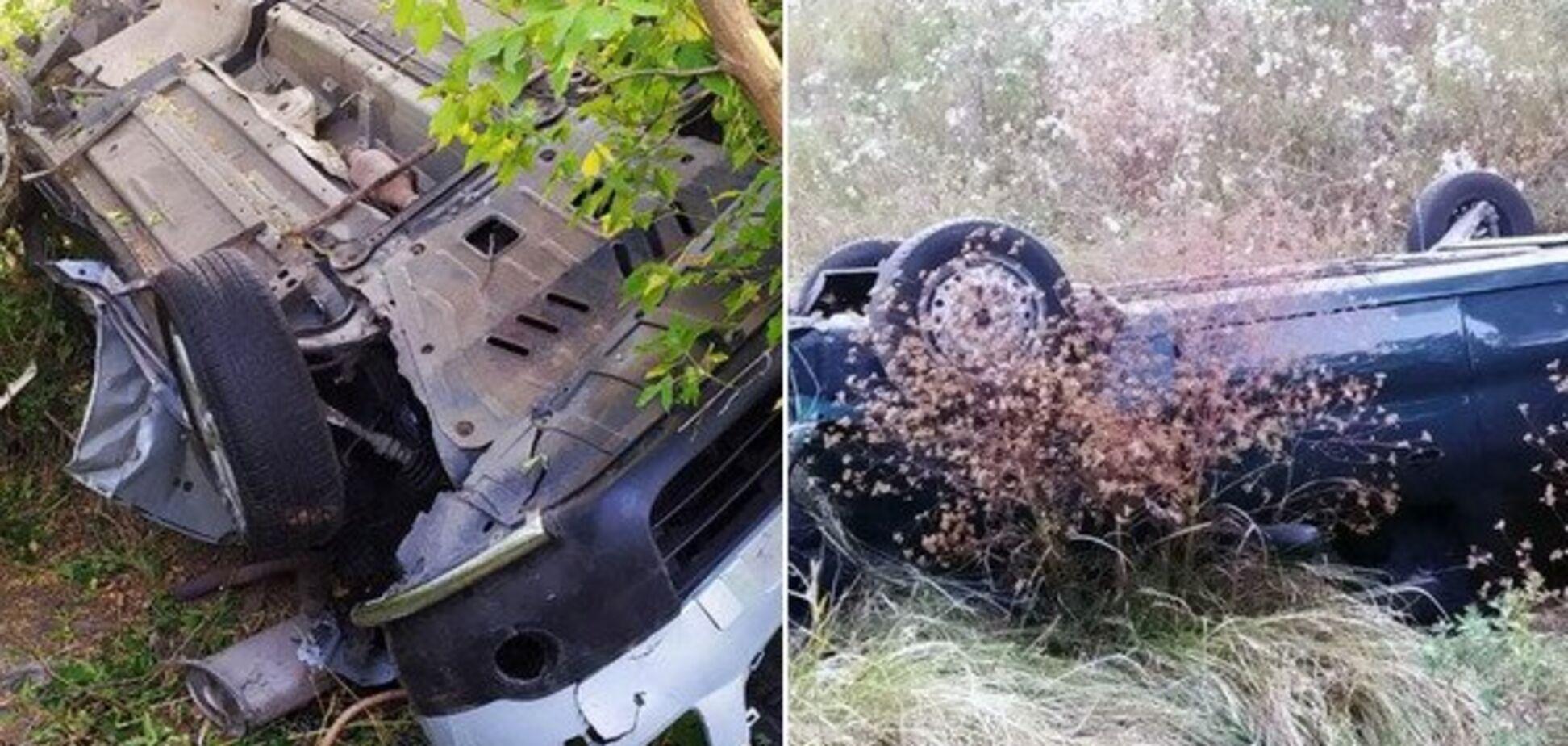 Жінку вирізали з салону: під Дніпром два легковики вилетіли в кювет