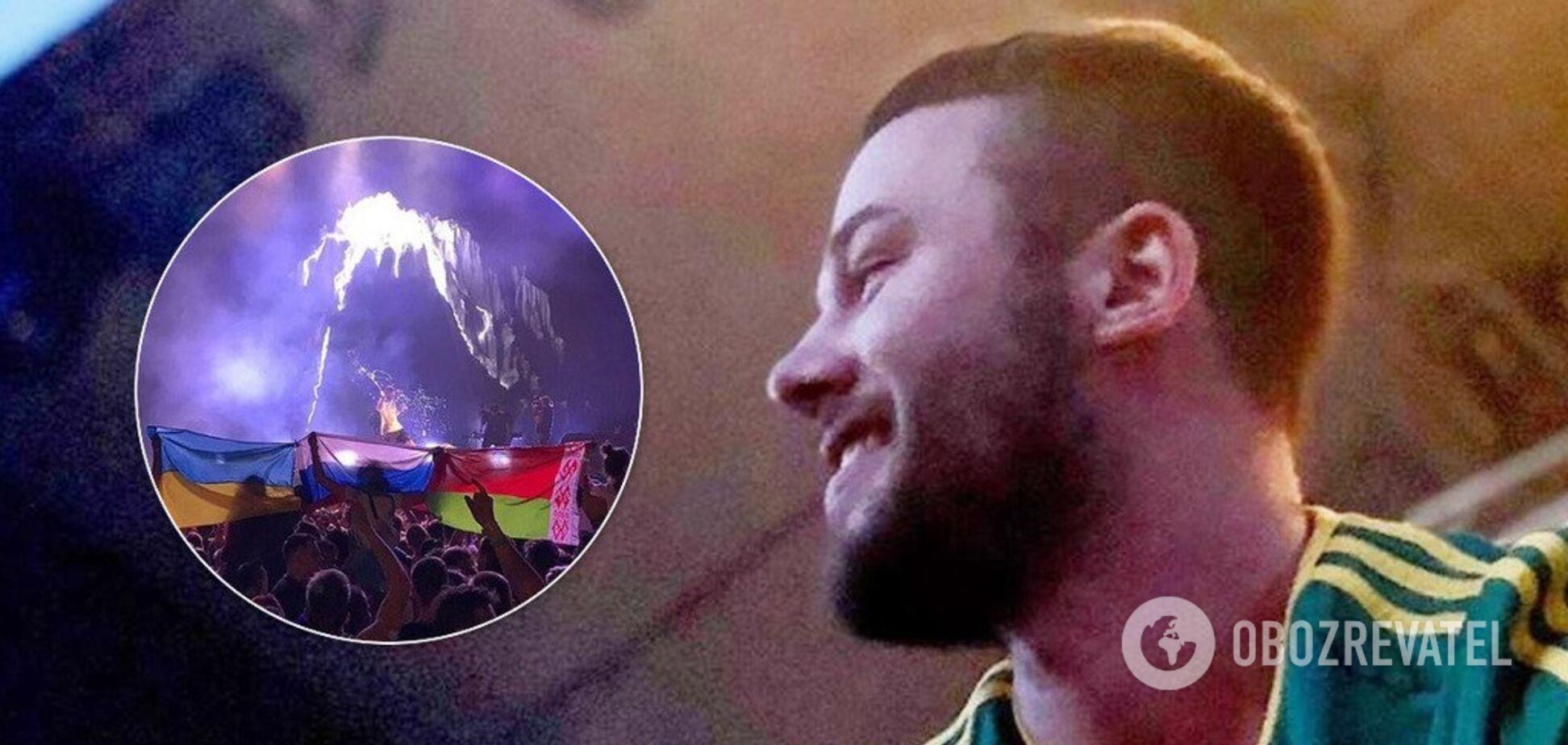 'Ідіть в д**у, брати!' У мережі розгорівся скандал через прапор України на концерті в Москві