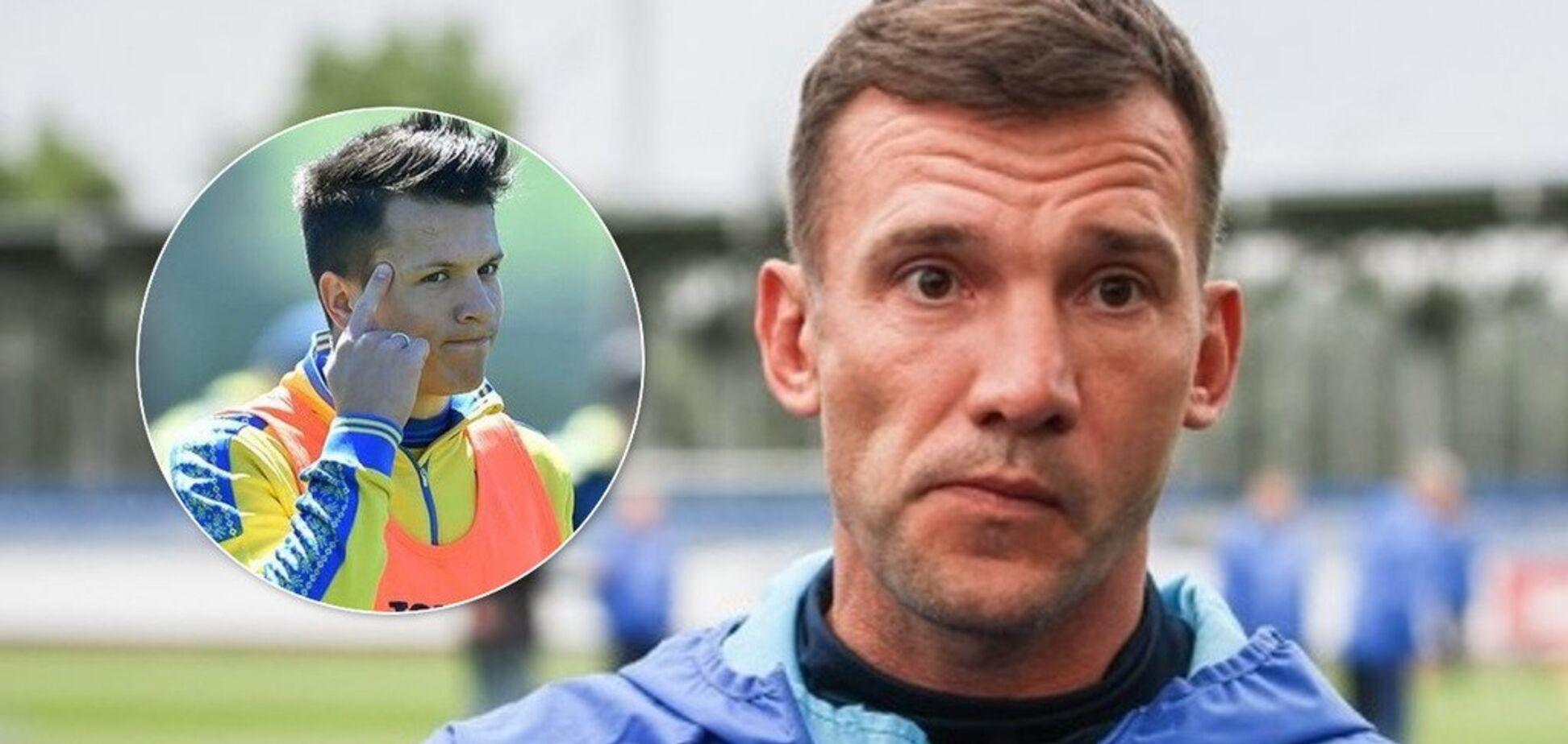 'Будут большие проблемы в сборной': Шевченко предупредил Коноплянку