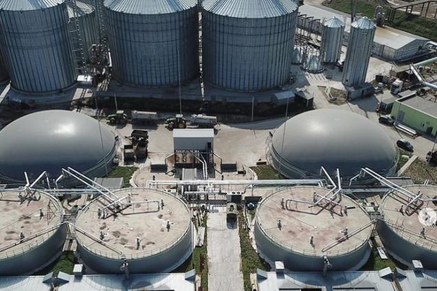 Биогазовая станция в Теофиполе