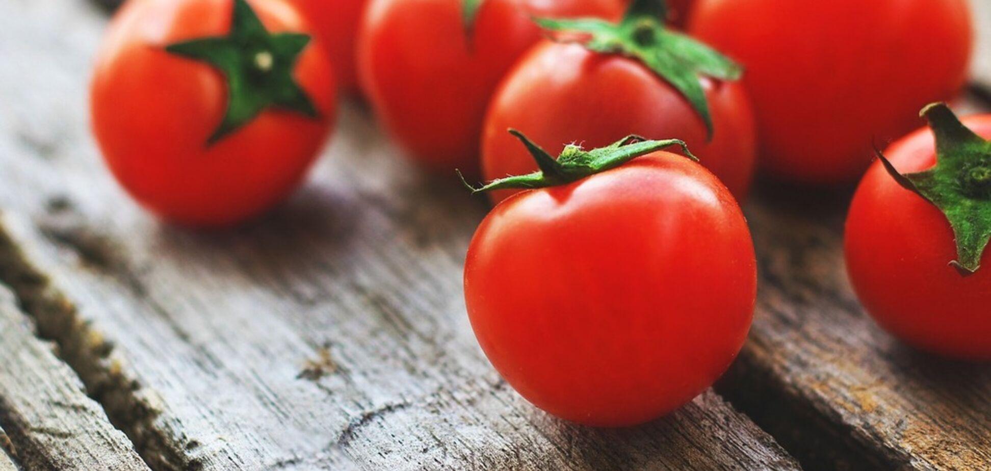 Рецепт очень вкусного блюда с помидорами