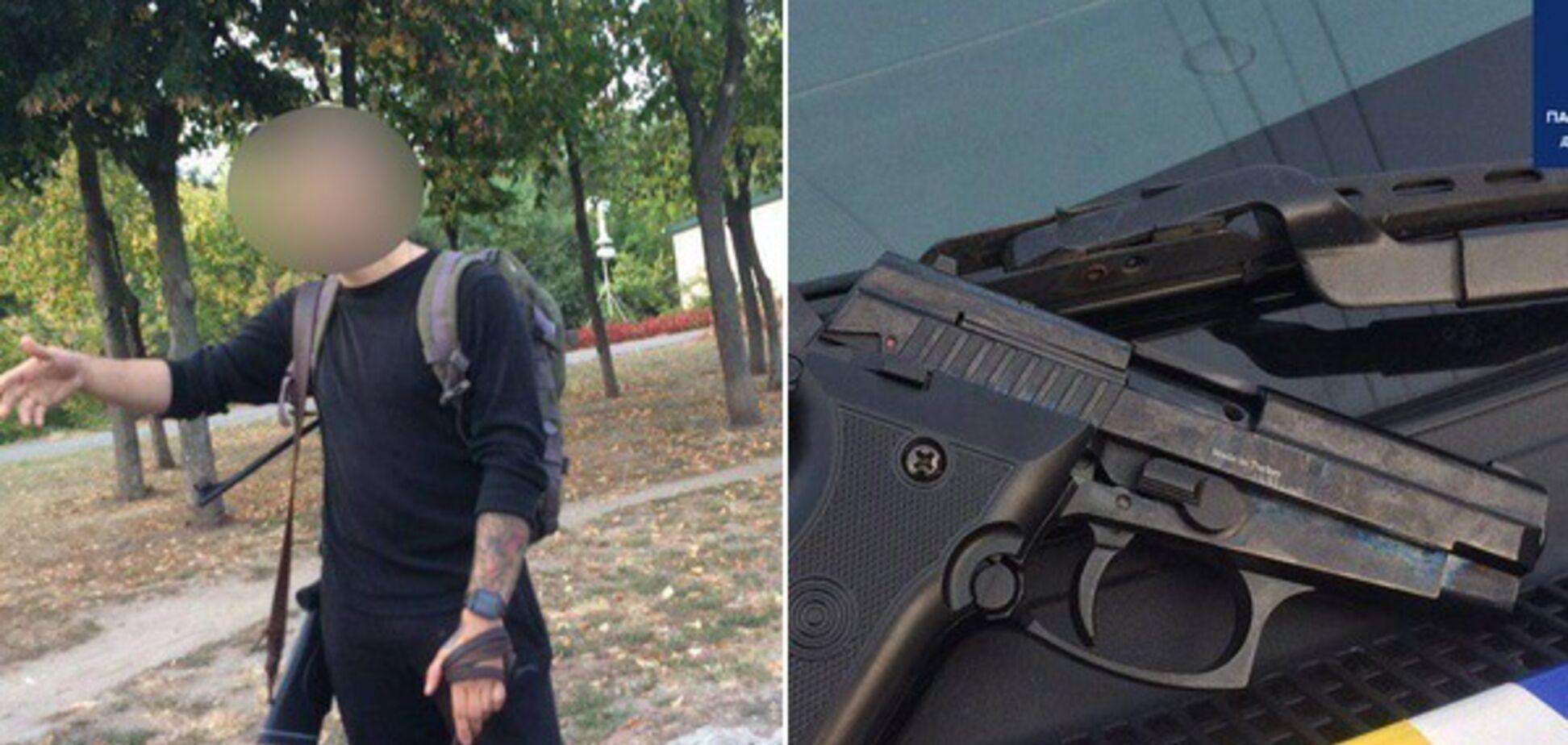 У Дніпрі двоє п'яних чоловіків влаштували стрілянину на набережній