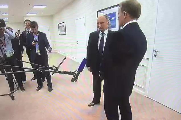Зустріч Медведчука із Путіним