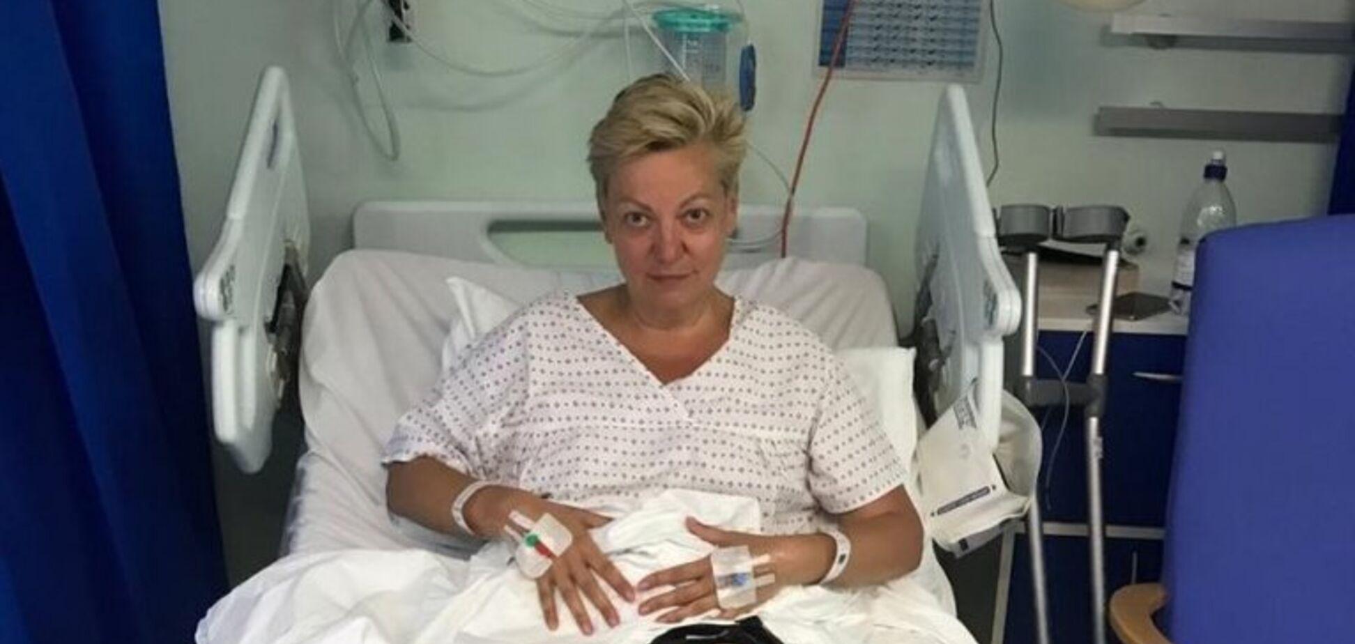 'Страшне видовище!' Гонтарева записала відео з лікарні в Лондоні