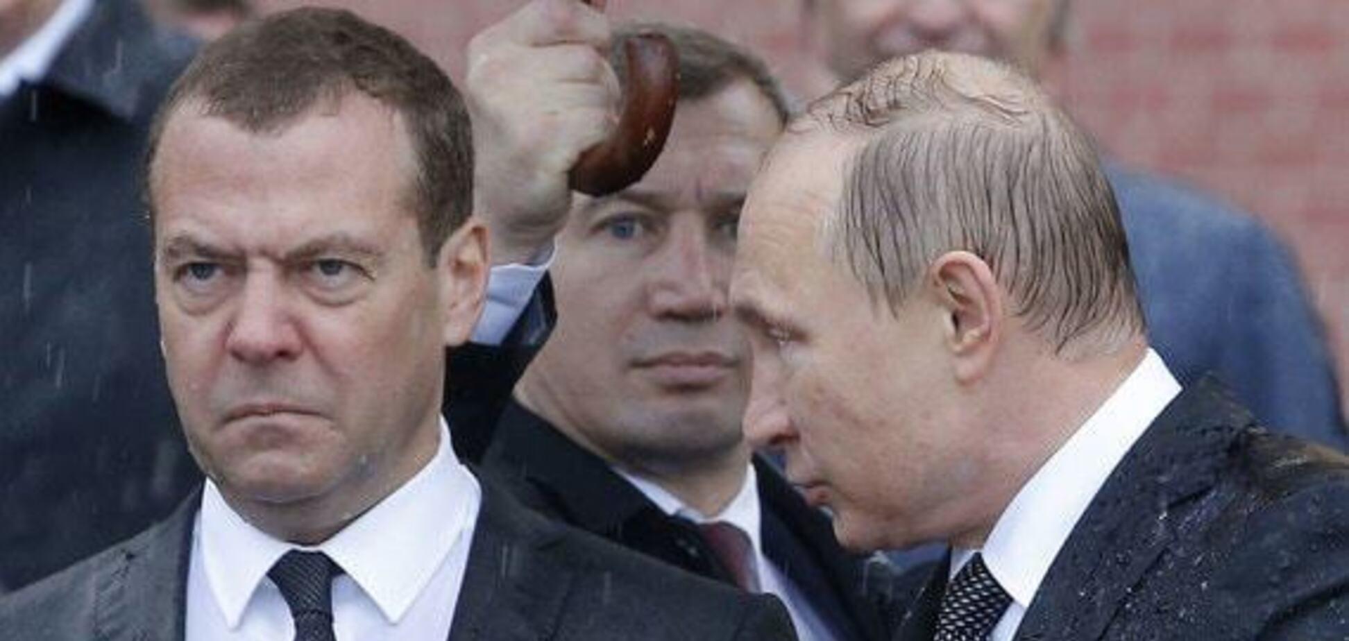 Путін 'прибере' Медведєва? З'явилися неоднозначні сигнали з Кремля