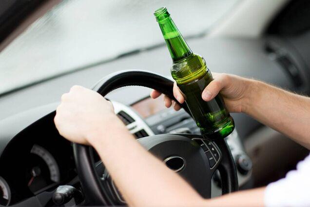 Затримали п'яного водія