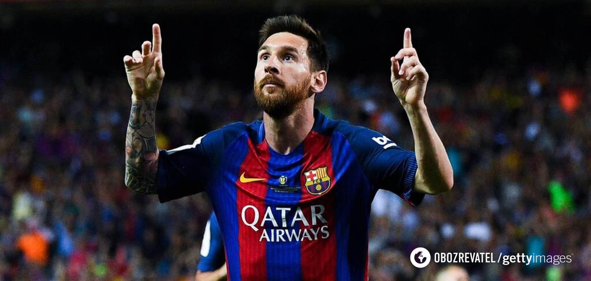 Месси подписал с 'Барселоной' уникальный контракт