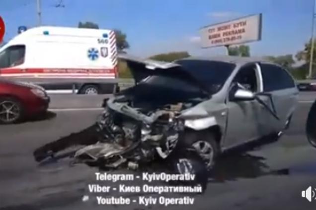 У Києві трапилася жахлива ДТП