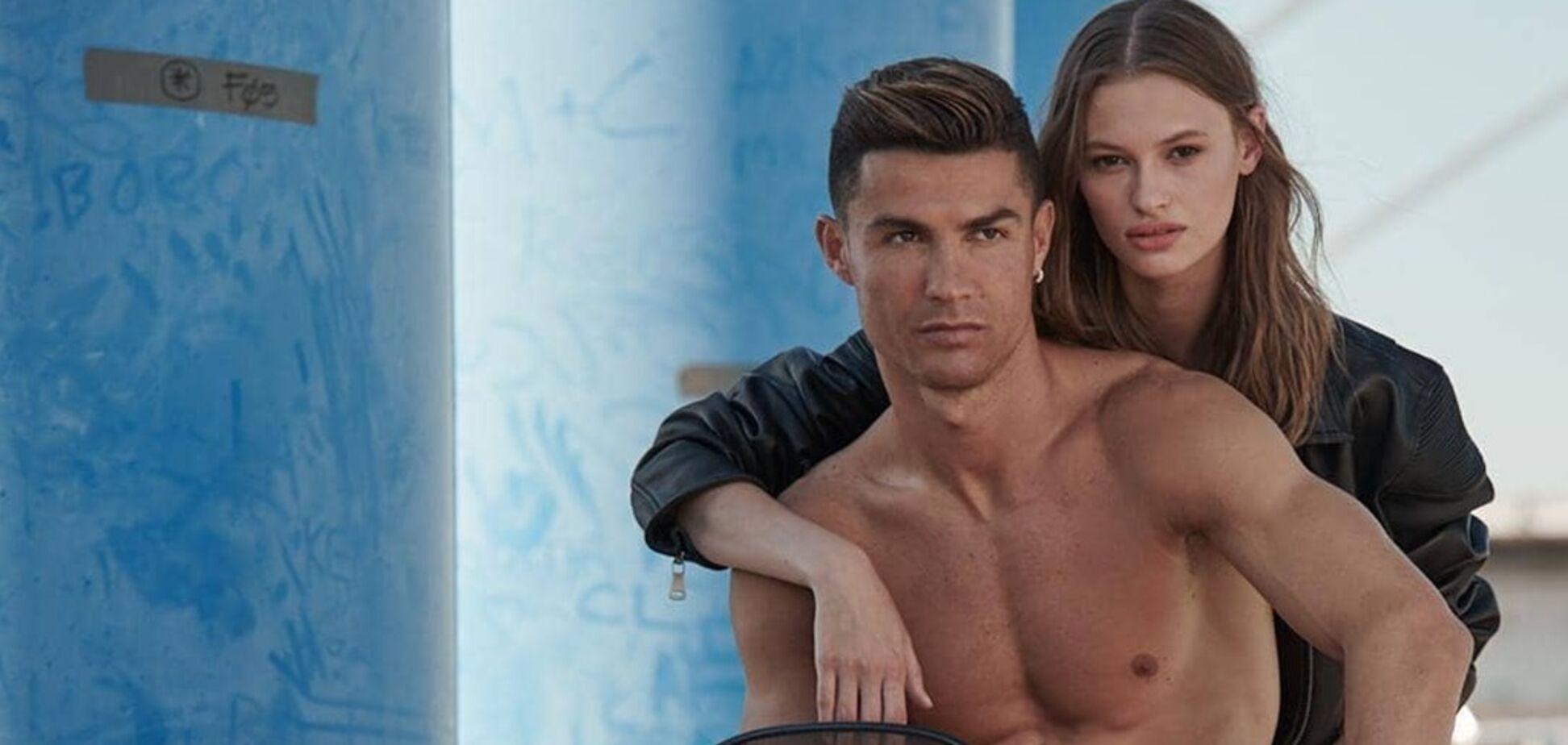 Роналду знявся у пікантній фотосесії з українською моделлю: фото красуні