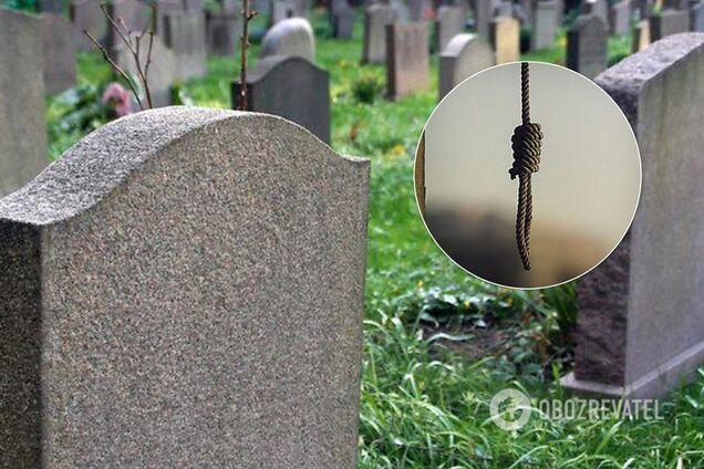 У Києві на кладовищі трапилася моторошна НП