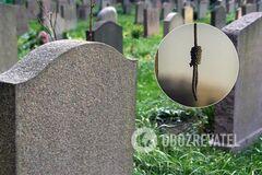 В Киеве на кладбище случилось жуткое ЧП