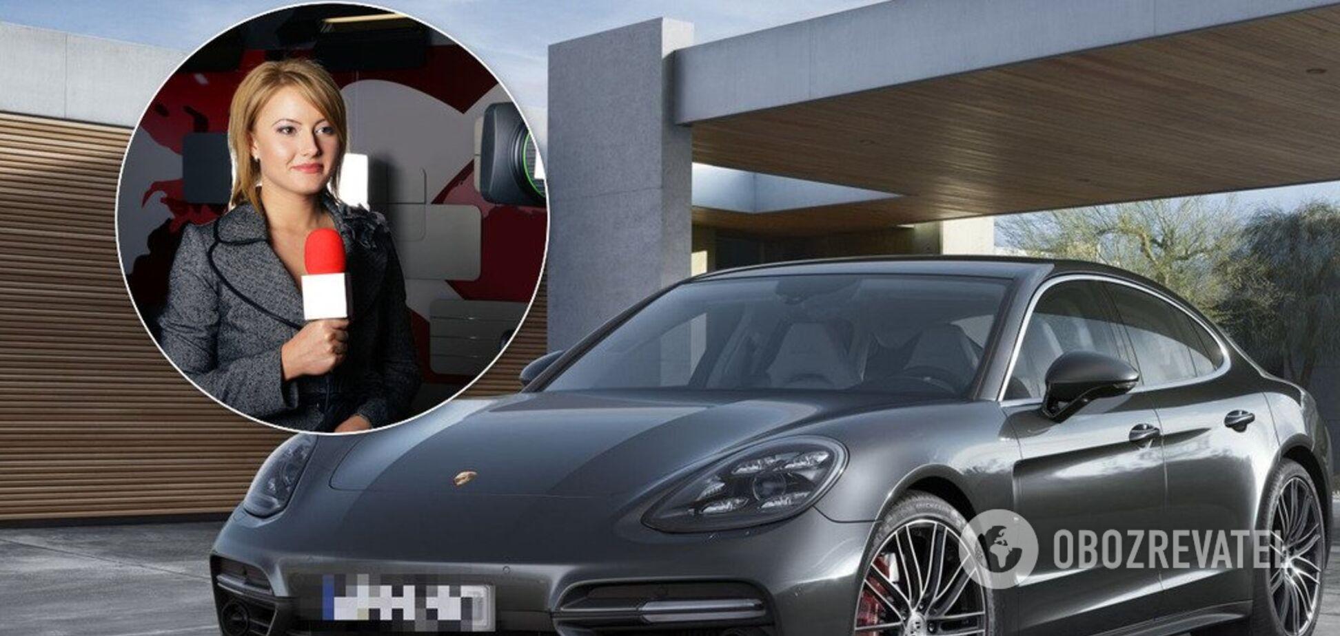 У Києві водій Porsche Panamera збив журналіста. Ілюстрація