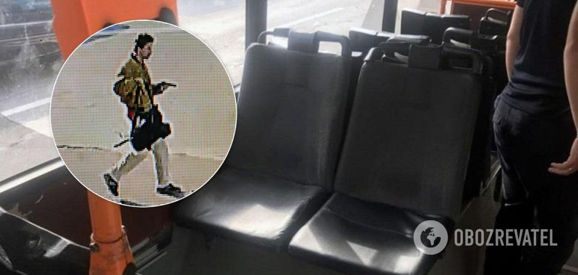 У Києві трапилася стрілянина у тролейбусі з людьми