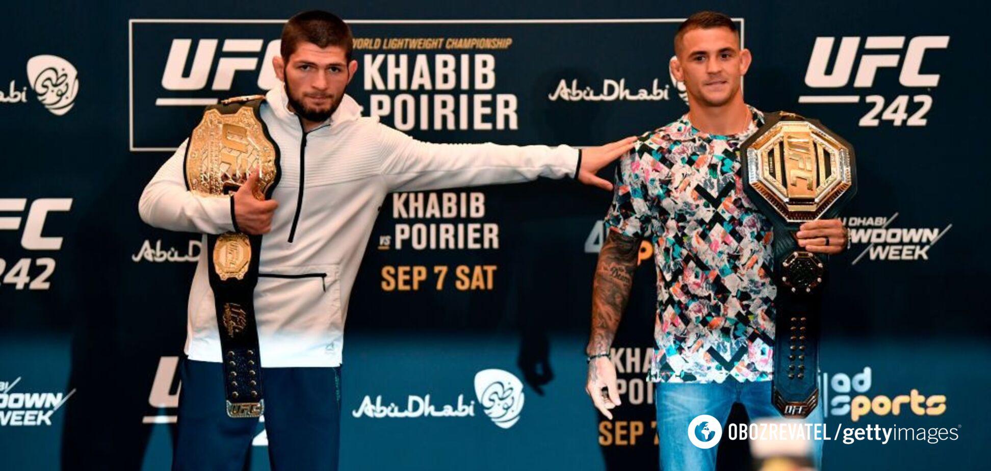 Бой начался! Хабиб – Порье: смотреть онлайн чемпионский бой UFC 242