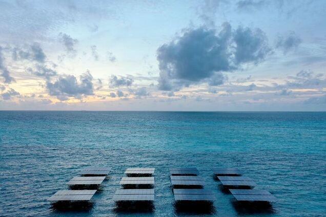 Станции SolarSea около острова Диду-Финолу