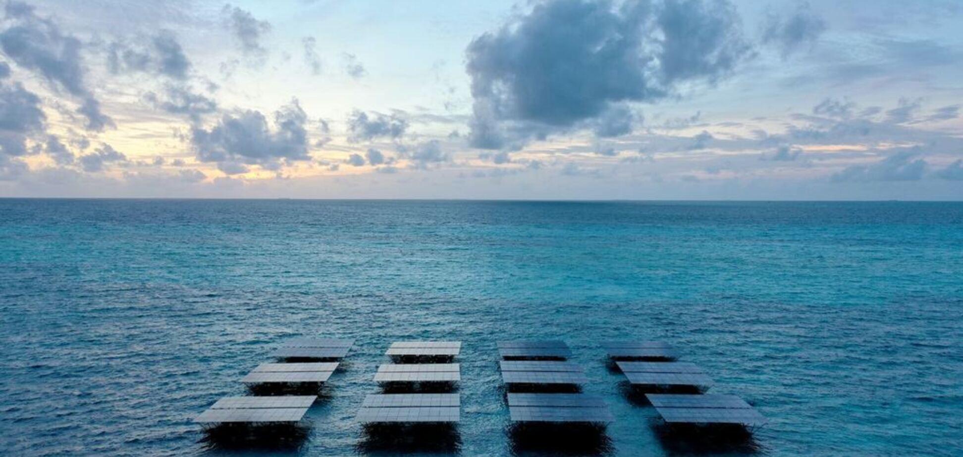 Самая большая в мире: в Индийском океане построили плавучую электростанцию