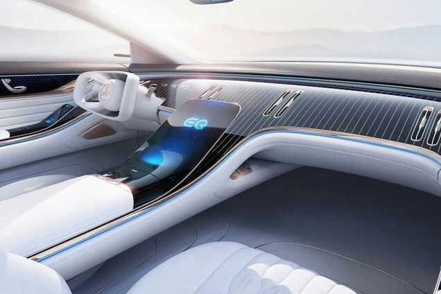 Концепт електромобіля Mercedes EQ