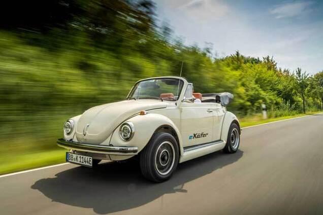 Електромобіль Volkswagen e-Beetle