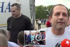 В Україну прибули полонені моряки, Сенцов, Кольченко і Балух: кого вдалося обміняти у Путіна
