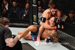 Хабіб задушив Пор'є в чемпіонському бою UFC