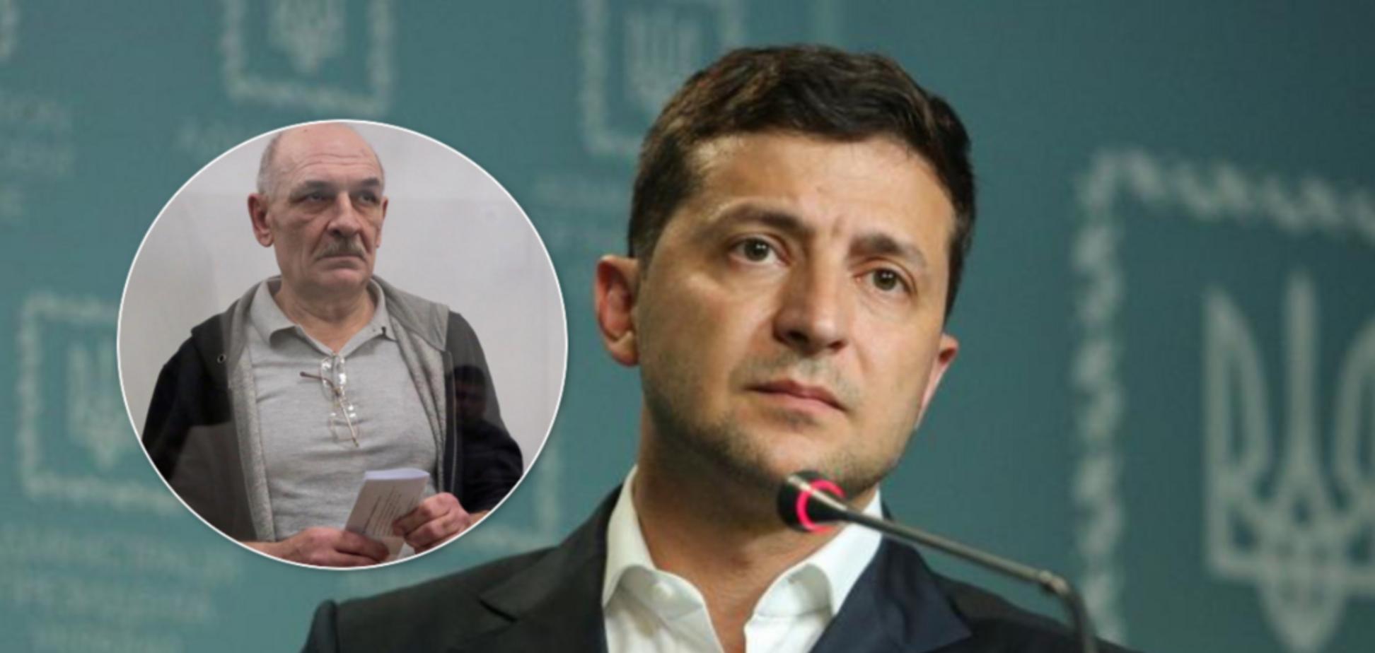 Зеленский рассказал, что было с Цемахом перед обменом