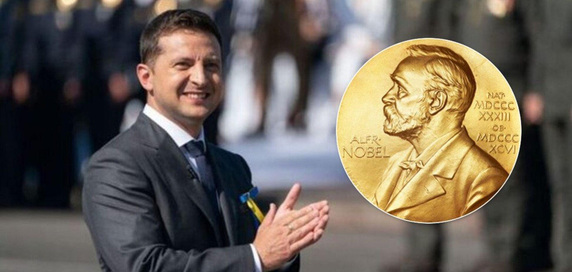 Зеленського запропонували висунути на Нобелівську премію миру
