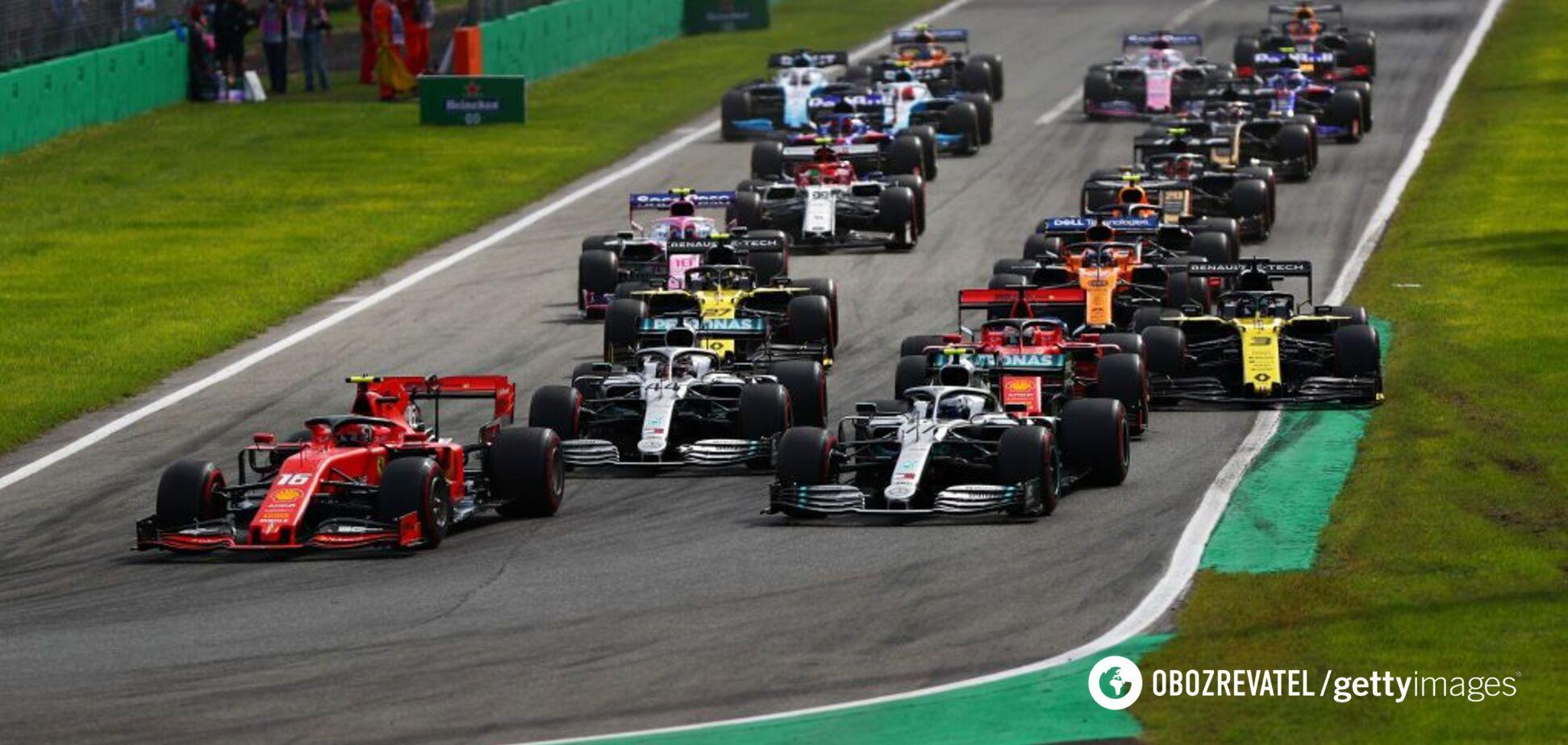 Феттель зробив дикий вчинок в гонці Гран-прі Італії
