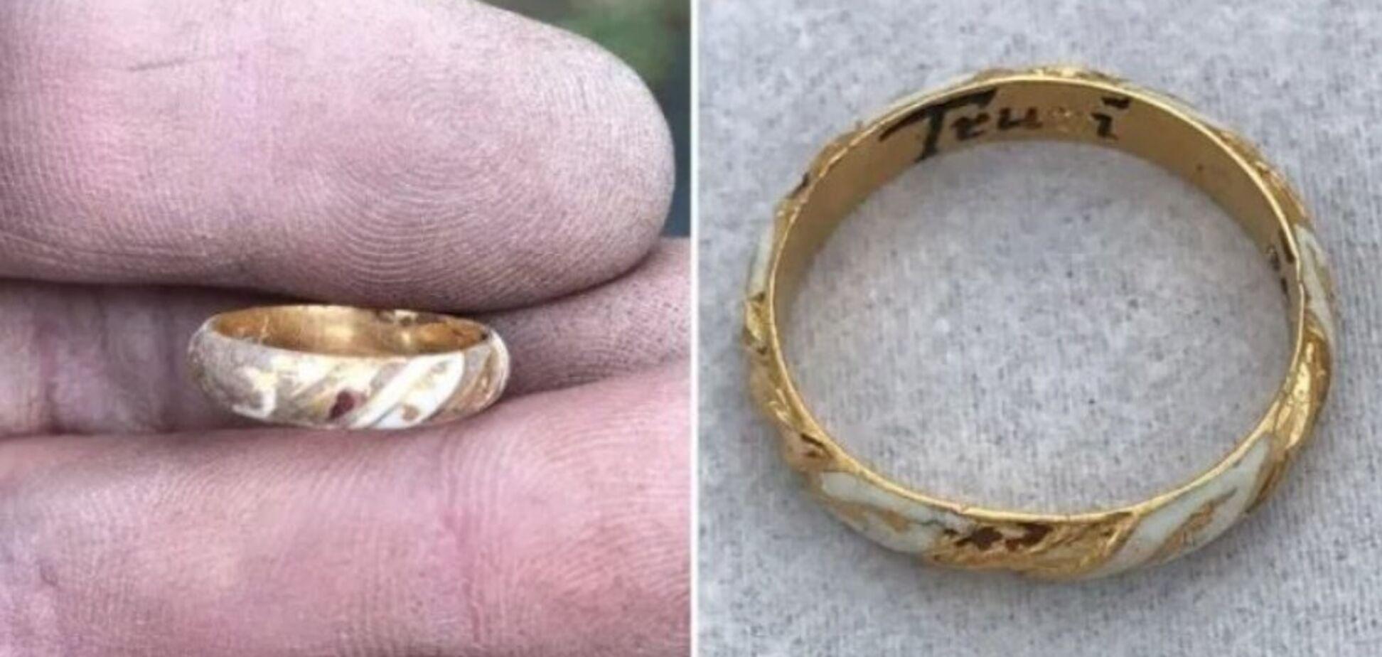 У Британії випадково знайшли унікальний перстень Шекспіра