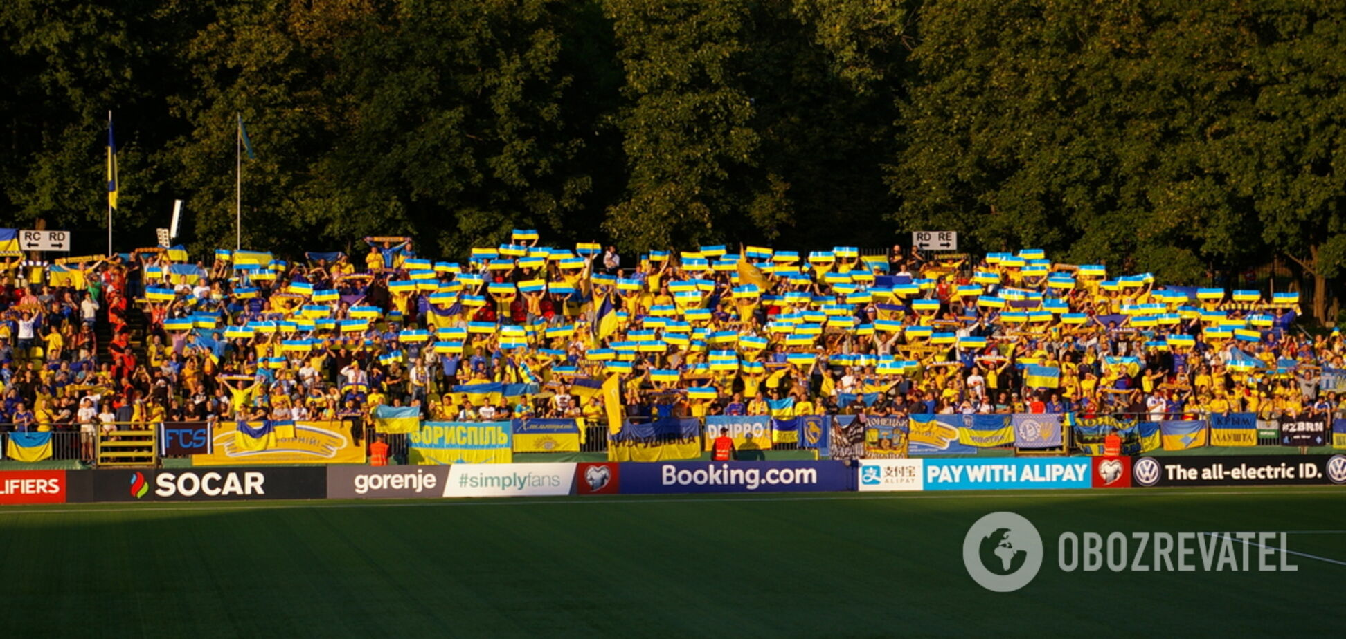 Роналду довелося почекати: репортаж з переможного матчу Україна в Литві