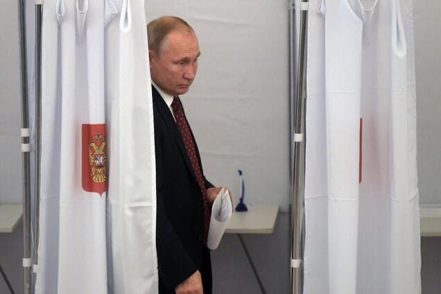 Путін голосував на виборах