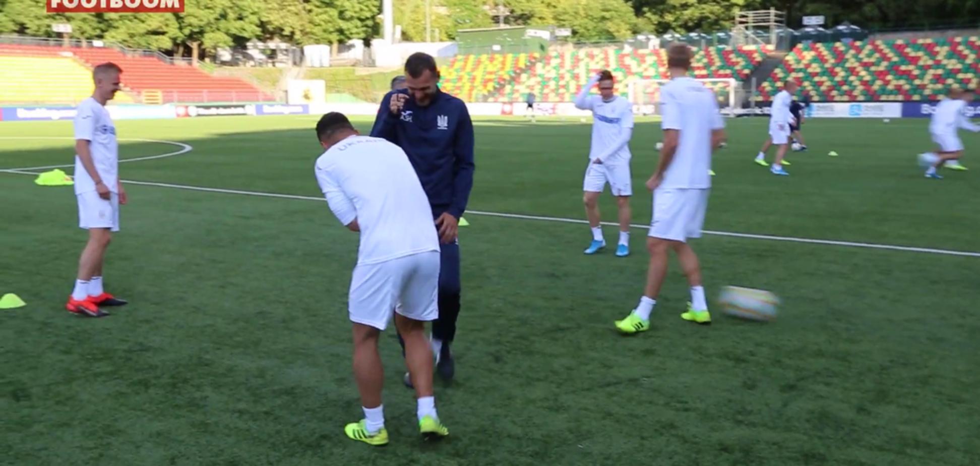 Шевченко назвал состав сборной Украины на решающие матчи отбора Евро-2020