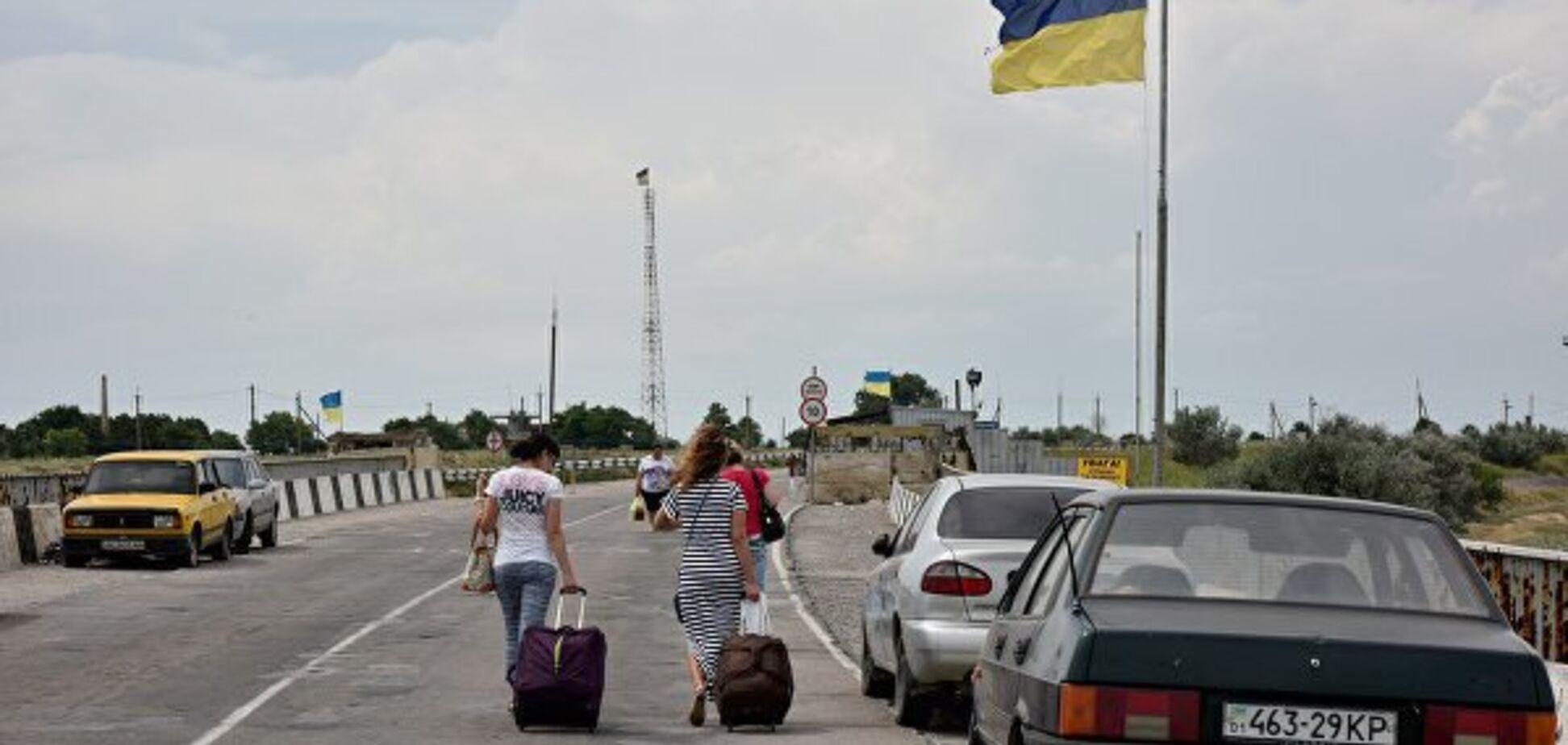 Граница Крыма с Херсонской областью. Источник: 0552.ua
