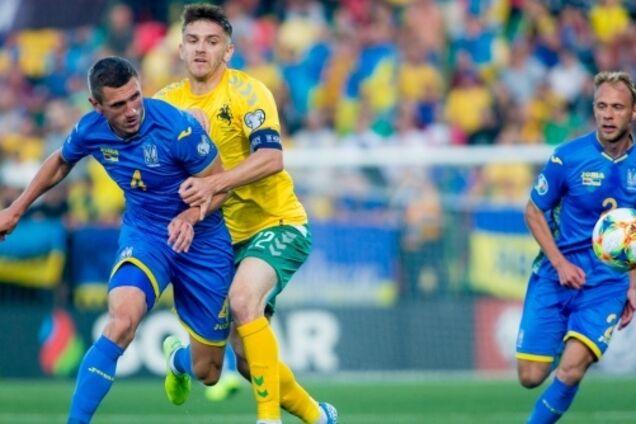 Литва — Украина — 0:3