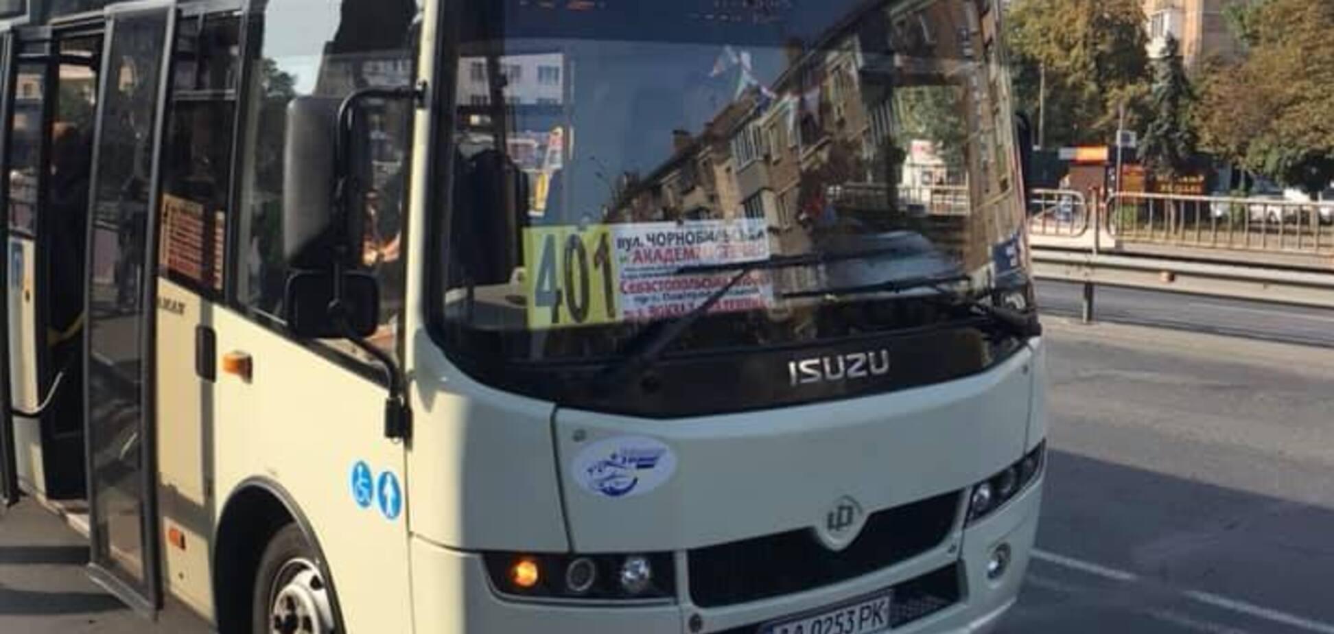 У Києві у маршрутці трапився гучний скандал