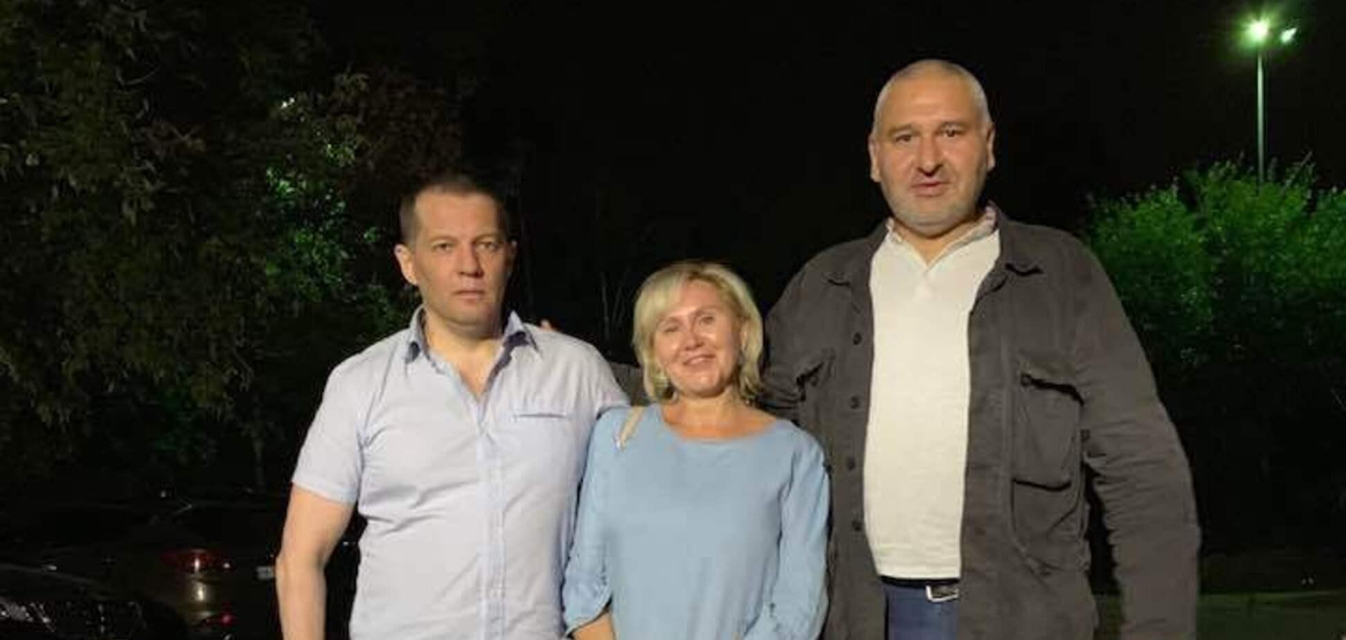 'Наручники закривали ганчіркою': адвокат поділився подробицями звільнення Сущенка