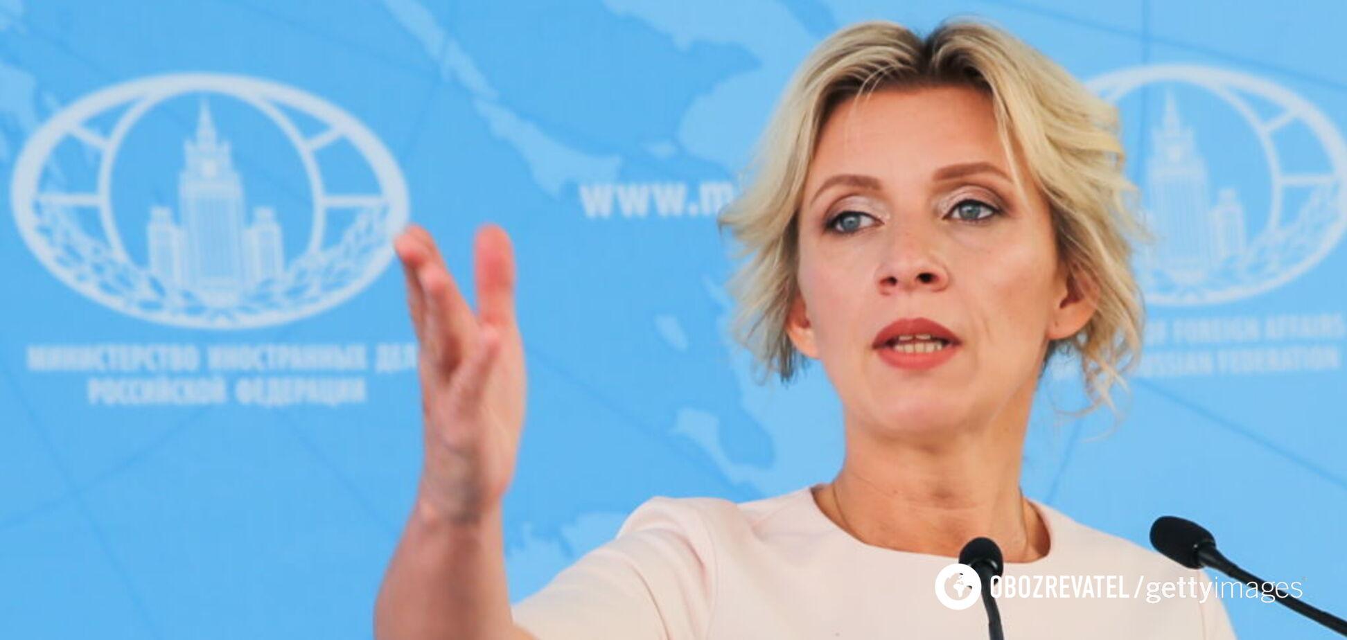 'Це все фотошоп!' Захарову рознесли за брехню щодо Донбасу