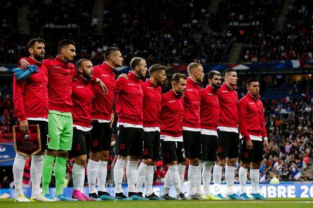 Збірна Албанії перед матчем